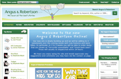 Angus & Robertson: new website designed by Tangent One