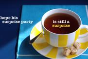 Dentsu: 2011 work for client Tetley by Dentsu London