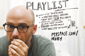 MySpace: Moby in last year's music push