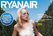 Ryanair magazine: gets in line for an upgrade