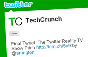 TechCrunch: incurs the wrath of Twitterers