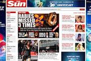 The Sun: website traffic increases 2.8% in April