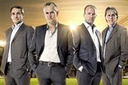 BBC World Cup presenters: Alan Hansen, Gary Lineker, Alan Shearer and Mark Lawrenson