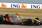 ING: sponsored Renault F1 team