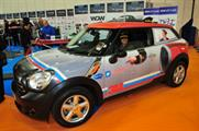 Car wrapping at FESPA 2013 at London's Excel