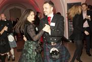 A Ceilidh dance ended the evening at Banqueting House