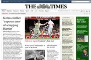 The Times: paywall claimed to encourage engagement with subscribers