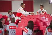 Santander: Lewis Hamilton and Jenson Button in bank's F1 sponsorship ad