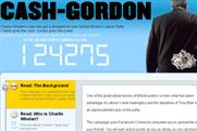 Cash Gordon: website criticises Labour's links to Unite
