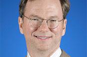Schmidt: Google's chief executive officer