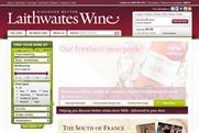 Laithwaites: aiming to increase online sales