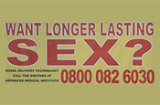 Want longer lasting sex?: ASA bans ad