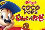 Kellogg's ad launches 'high fibre' Choc 'N' Roll cereal