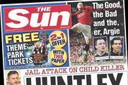 The Sun: profts slip