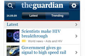 The Guardian: launches iPhone app
