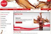 Trce Your Coke: environmental campaign