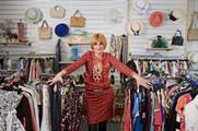 Mary Portas luxury charity shop