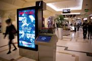 Clear Channel: digital screens in shopping malls