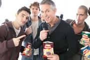 Gary Lineker: brand ambassador to star in TV ad for Walkers Deep Ridged crisps