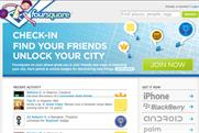 Foursquare: claimed record number of signups