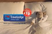 Travelodge: promotes weekend deals