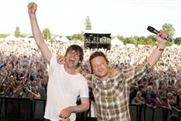 Oliver and James performed together at The Big Feastival