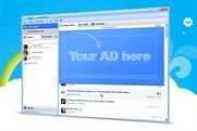 Skype: displays its new ad platform