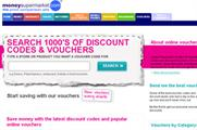 Moneysupermarket plans to become market leader in online vouchers