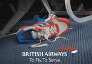 British Airways: latest ad campaign focuses on the services available on the airline