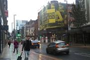 BlowUp Media: debuts Deansgate poster site with Bulmers' In The Beginning campaign