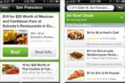 Groupon: takes sixth place in the BR app chart