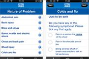 NHS Direct: straight in at number one in the BR app chart