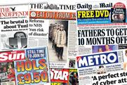 National newspaper ABC figures for December 2010