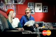 The Ting Tings: gives something to the fans in Brit Awards idents