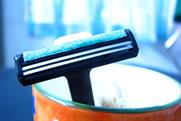 The shaving market value fell 3% to £523m in 2009