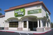 Tesco's new Fresh & Easy store in California