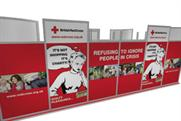 The campain aims to demonstrate the effect that buying from the Red Cross will have
