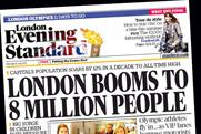 London Evening Standard: to launch replica iPad app