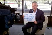 Gary Lineker: former England footballer promotes the work of Parkinson's UK