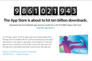 Apple app store to hit 10bn downloads