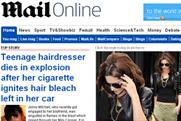 Mail Online: reaches more than two million daily browsers