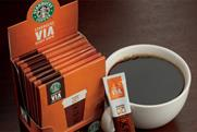 Starbucks: rolling out a decaf version of its Via instant coffee