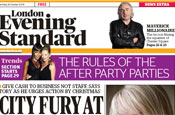 Evening Standard:now a free distribution paper