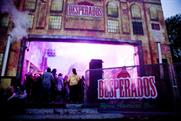 Space creates Desperados activity at freeze