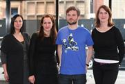 Meteorite appoints (l-r) Nykeeta Barakakoti, Kate Ward, Ben Cook and Vicky Hope