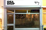 Ogilvy's Idea Shop: an impression of the what the Brixton shop will look like