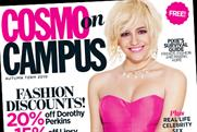 Advertisers line-up for Cosmo on Campus