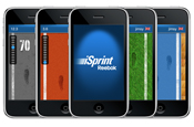 Reebok iSprint: real-time multiplayer game