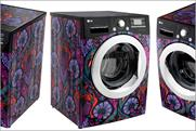 LG: designer washing machine promotes brand's links with London Fashion Week