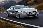 Hackett: giving away free Aston Martin